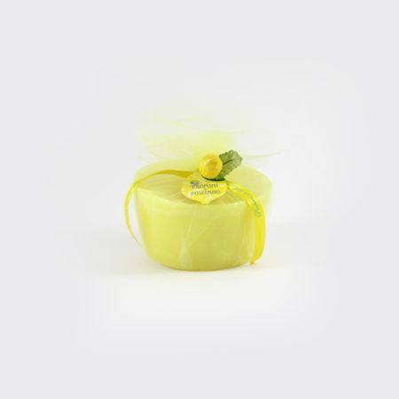 Candela al Limone Box Regalo con Cera | Sapori e Profumi di Positano