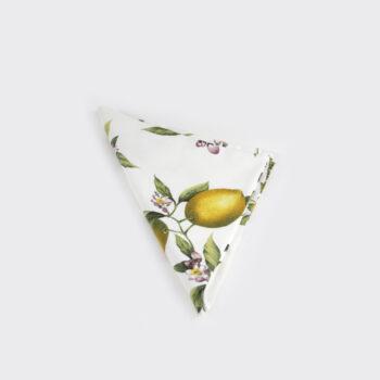 Tovagliolo in cotone con trame di limone | Sapori e Profumi di Positano