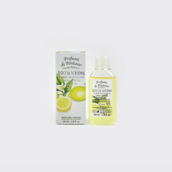 Bagnodoccia al Limone 100ml | Sapori e Profumi di Positano
