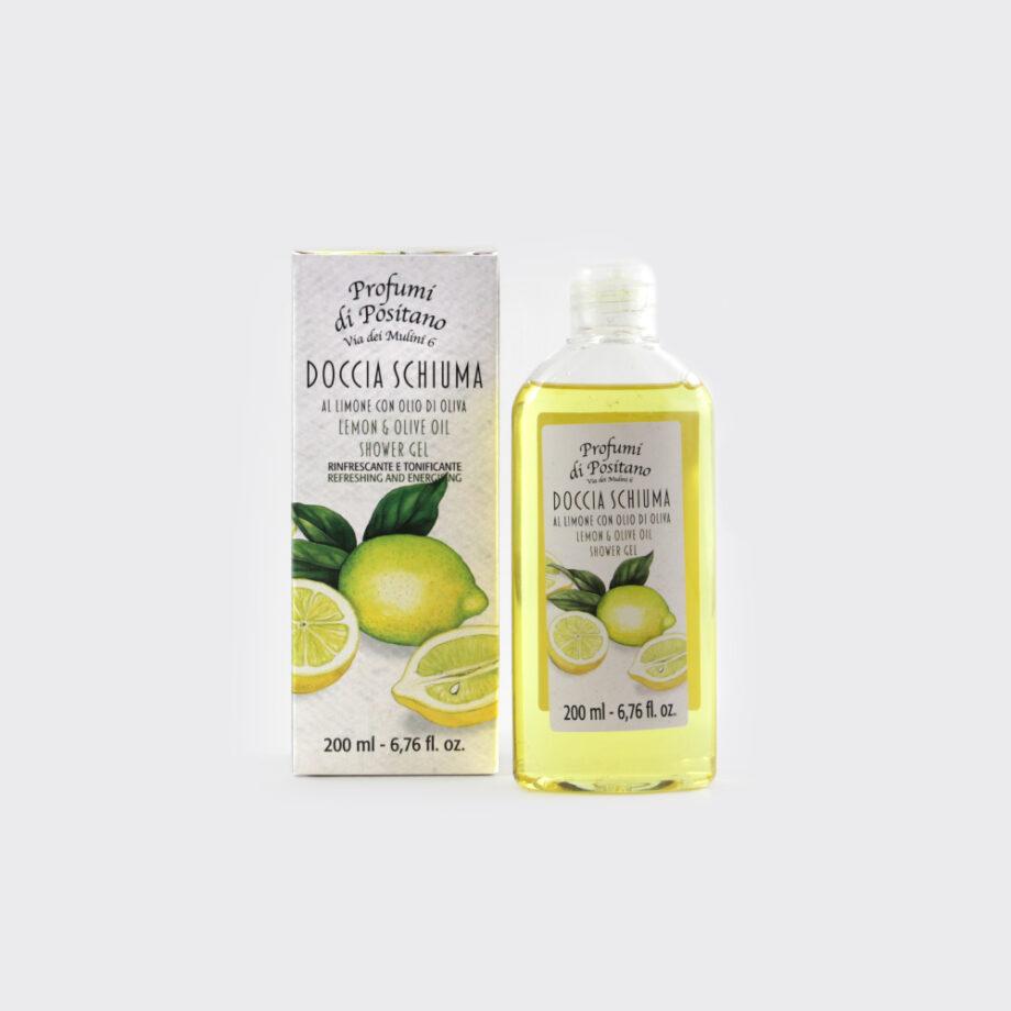 Bagnodoccia al Limone 200ml | Sapori e Profumi di Positano