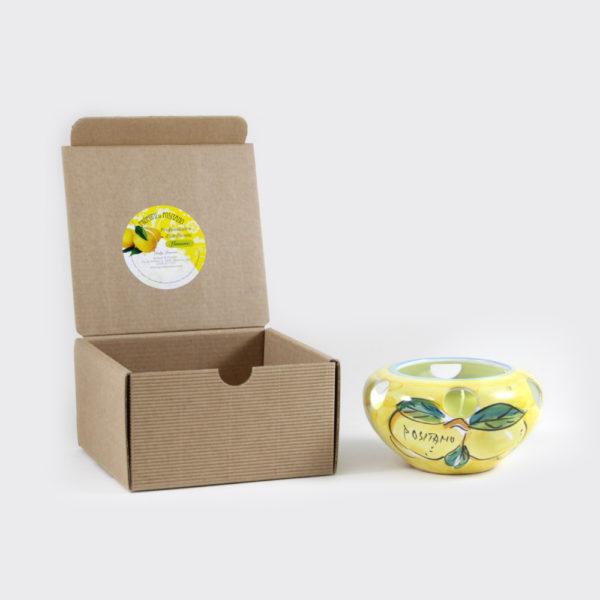Candela al limone con coccetto grande | Sapori e Profumi di Positano