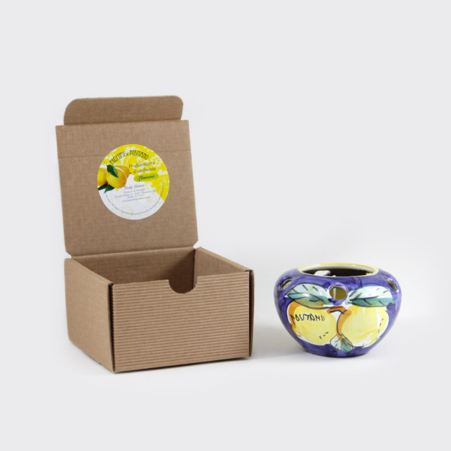 Candela al limone con coccetto media | Sapori e Profumi di Positano
