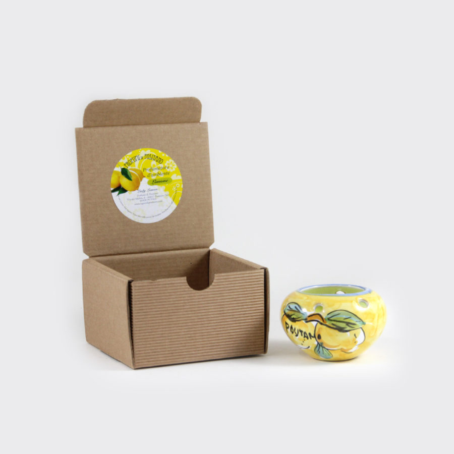 Candela al limone con coccetto piccola | Sapori e Profumi di Positano