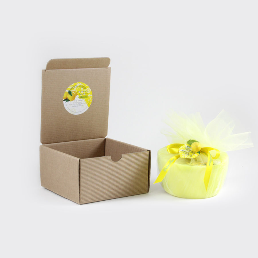Candela al limone box regalo media | Sapori e Profumi di Positano