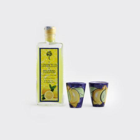 Box Regalo Limoncello 20 cl 2 bicchieri | Sapori e Profumi di Positano