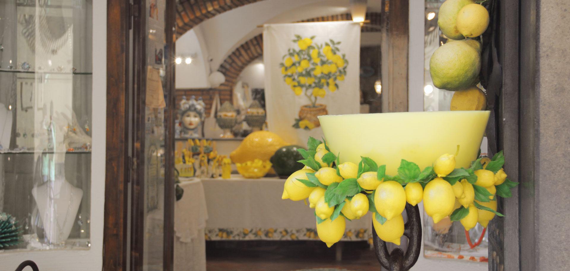 Dettaglio limoni | Sapori e Profumi di Positano