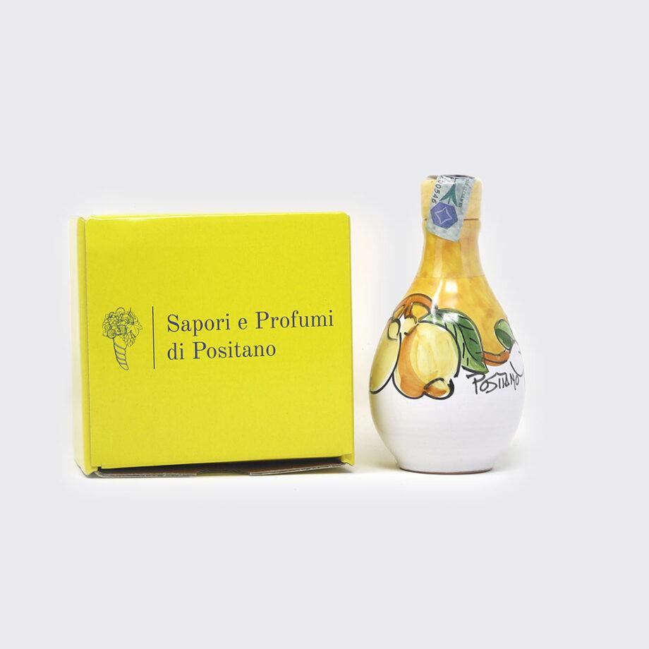 Limoncello in ampollina in ceramica