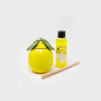 Ceramic hand made lemon diffuser